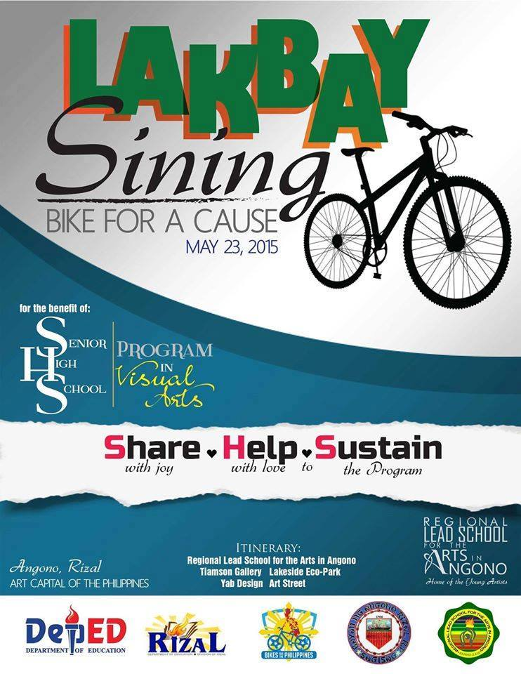 Lakbay Sining- BIke For A Cause