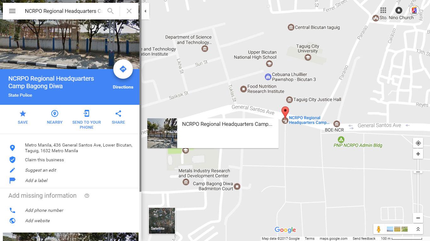 camp-naging-diwa-google-map