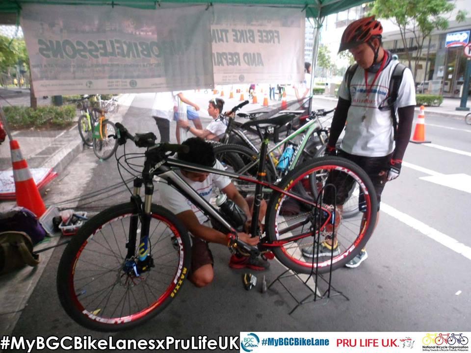 bike tune up and repair