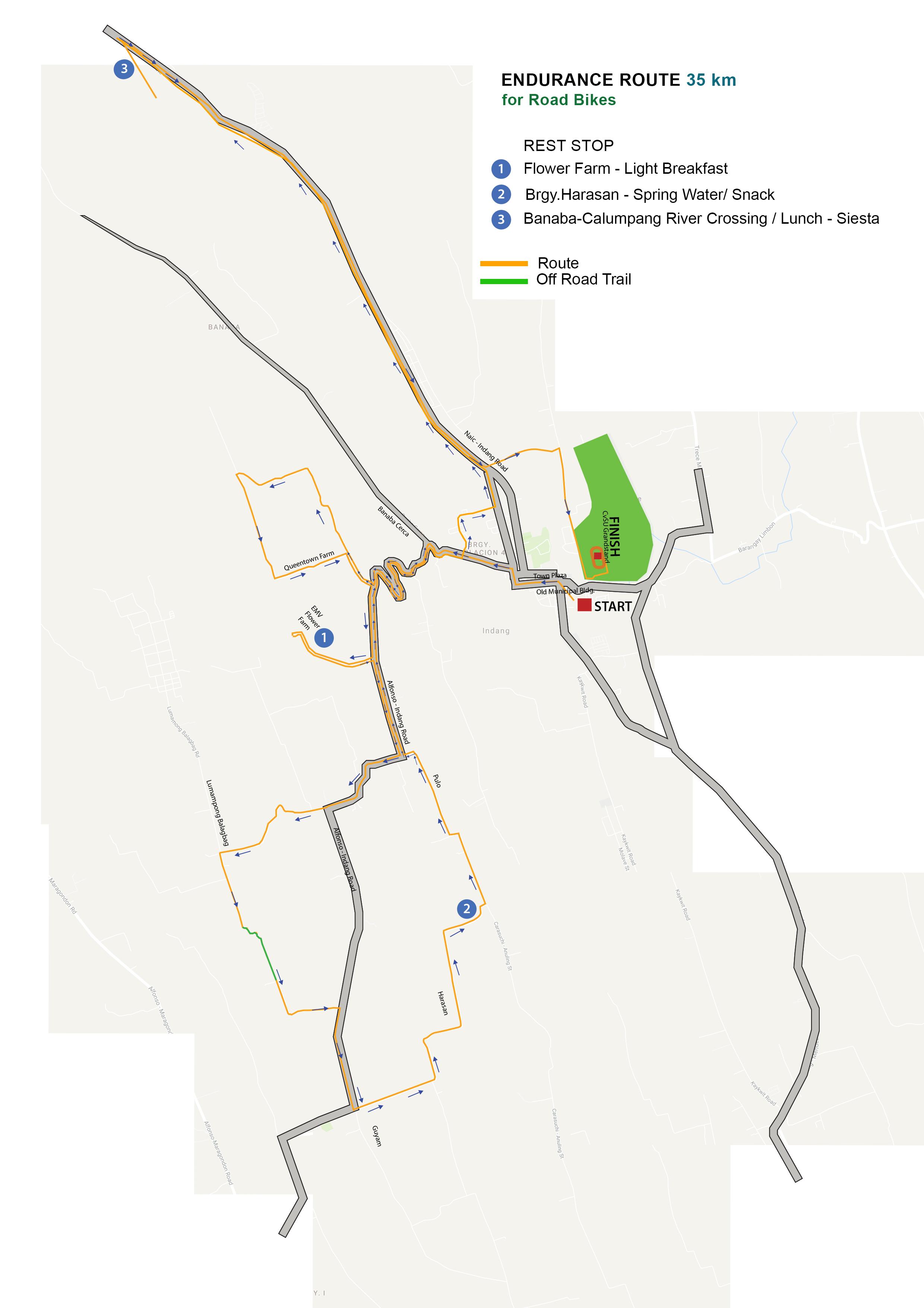 RoadBike Route